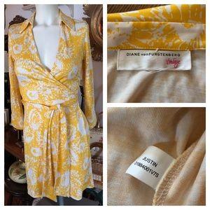 Vintage Diane von Furstenberg Justin Wrap Dress